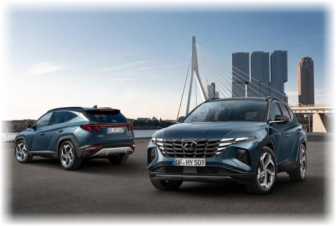 Новый Hyundai Tucson - это 4 поколение автомобиля