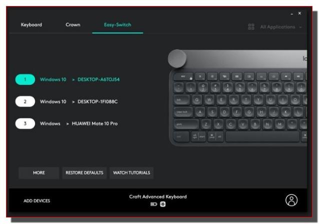 Клавиатура Logitech Craft