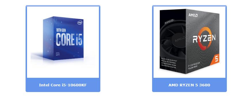 Лучшие процессоры до 200 евро