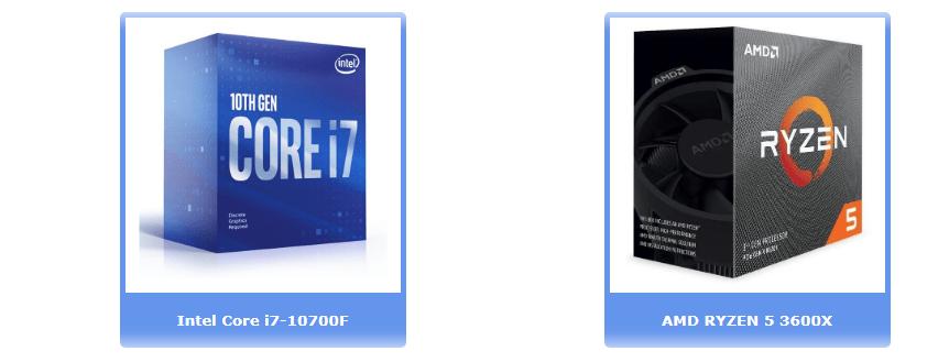 Лучшие процессоры до 275 €