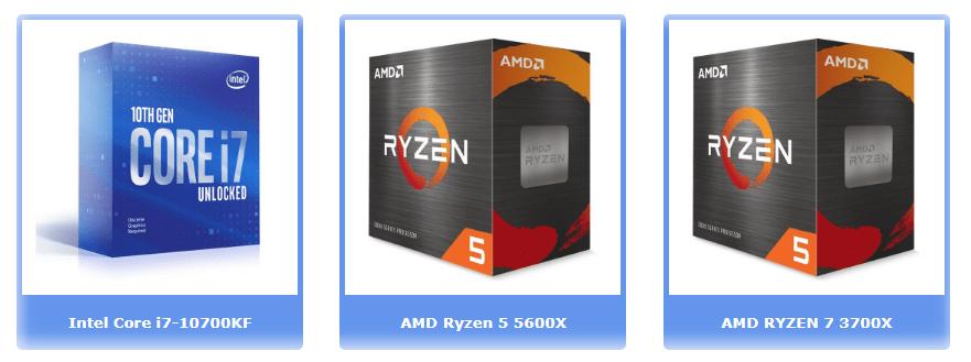 Лучшие процессоры до 350 €