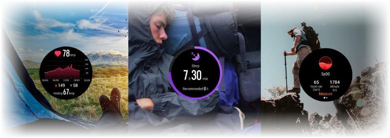 Часы для активного отдыха