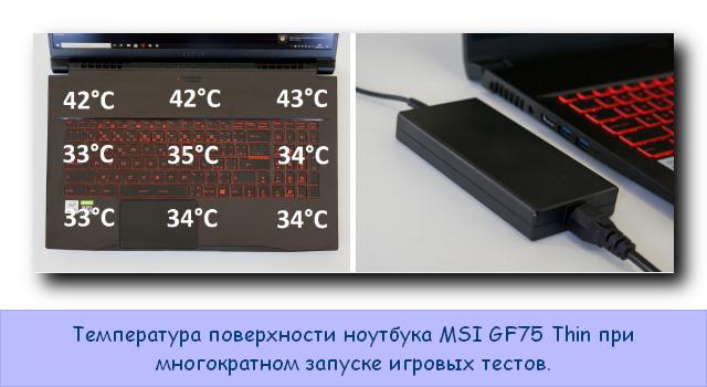 MSI GF75 Thin