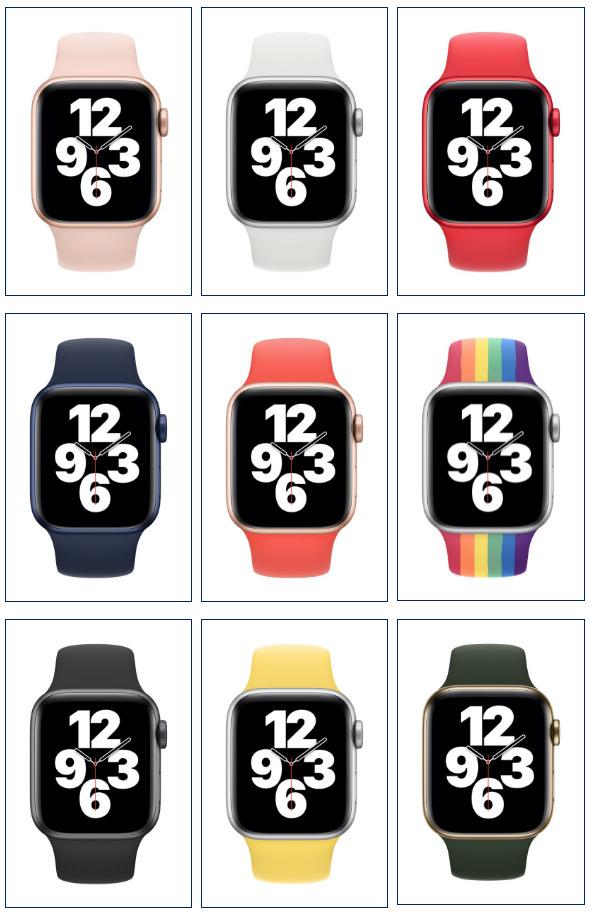 дизайн Watch 6