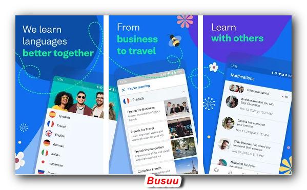 приложение Busuu