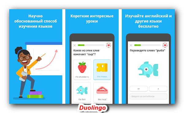Лучшее приложение для изучения языков
