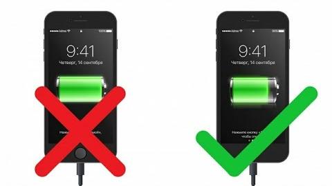 Как правильно зарядить смартфон
