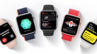 Сравнение Apple Watch