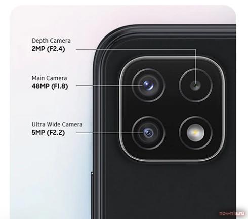 Обзор Galaxy A22