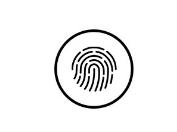 отпечатков пальцев сетчатки или лица