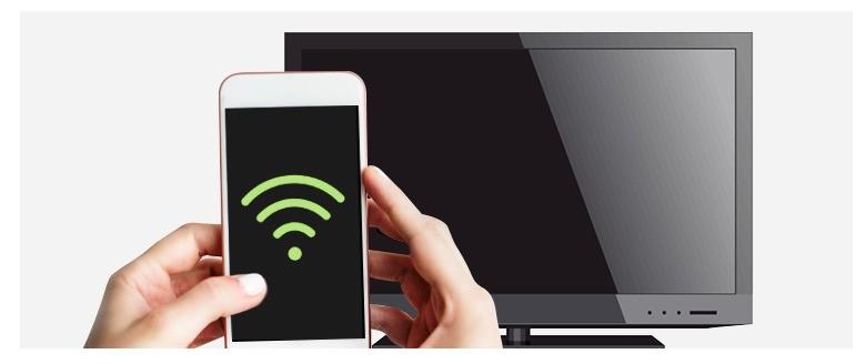 Как подключить смартфон к телевизору: Wi-Fi соединение